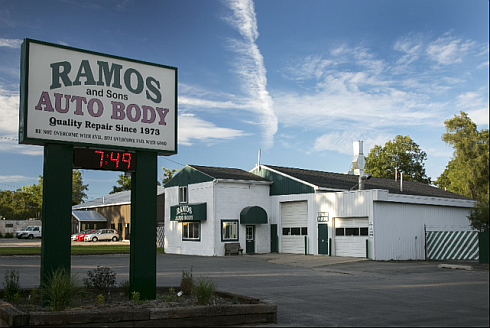 ramos auto body in muskegon